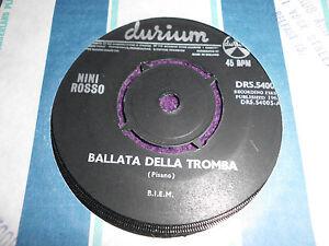 NINI-ROSSO-034-Ballata-Della-Tromba-034-1965-UK-7-034-DURIUM-DRS-54005