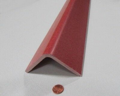 "GPO3 Red .250/"" Thickness x 3.00/"" Arms  x 36/"" Length Fiberglass 90º Angles"