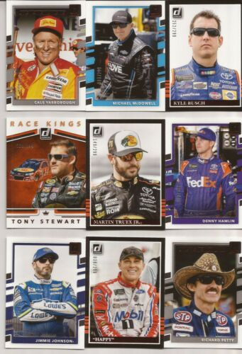 2018 Panini Donruss Racing Nascar Red Foil Inserts Parallel You Pick //299