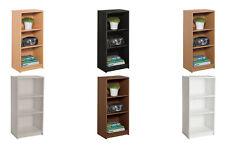 Argos Home Maine 2 Shelf Half Width Small Extra Deep Bookcase - Choice of Colour
