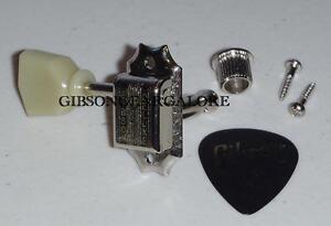 Treble Side Single Nickel Kluson Deluxe Les Paul Guitar Tuner Gibson Les Paul