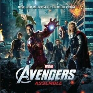 MARVELS-THE-AVENGERS-CD-SOUNDTRACK-NEW