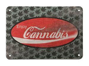 Metal-Sign-Enjoy-Cannabis