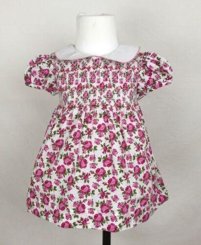 Pantalones /& Hyadby Traje De hasta 36 meses Bebé Niña Floral Vestido Smocked