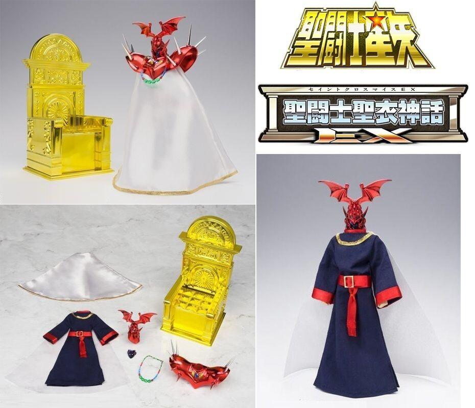 BANDAI SAINT SEIYA CLOTH MYTH EX POPE ARES & THRONE GOD GEMINI SAGA REVIVAL