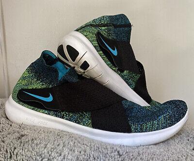 Nike Free Rn Motion Flyknit 2017 Multi Color Size 11 5 Ebay