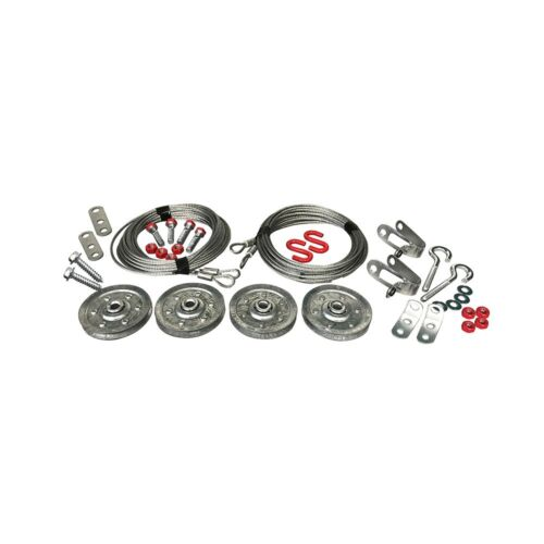 Garage Door Extension Spring Lift And Containment Kit w// Hardware