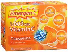 Emergen-C Vitamin C Drink Mix Packets Tangerine 30 Each