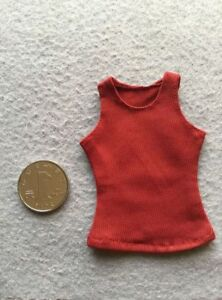 "1//6 Scale RED Women/'s vest For 12/"" FeMale HT Phicen Body Doll TOY"