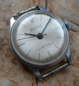 Vintage soviet mechanical wrist watch Vostok precision cal. 2809, USSR, 1965