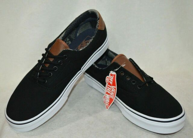 Vans Men's C&L Era 59 Black Material Mix Skate Shoes - Assorted Sizes NWB