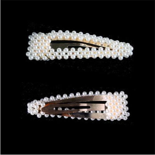 Fashion Pearl Hair Clip Hair Band Comb Bobby Pin Barrette Hairpin Headdress