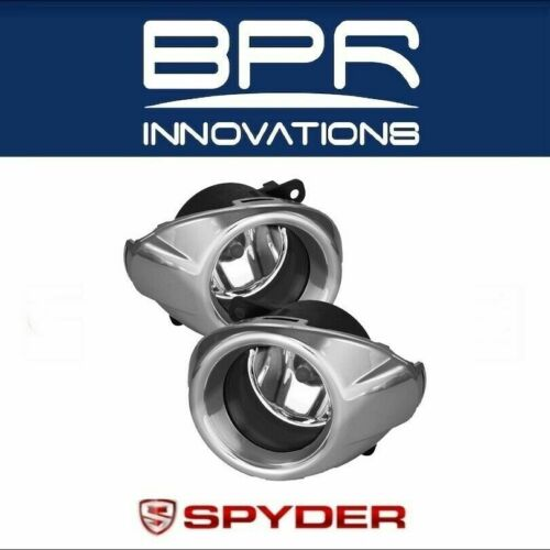 5076328 Spyder Factory Style Clear Fog Lights Pair for 2011-2014 Ford Focus