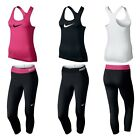 NIKE WOMENS LEGGINGS JOGGERS RUNNING PANTS GYM TANK TOP VEST T SHIRT SINGLET