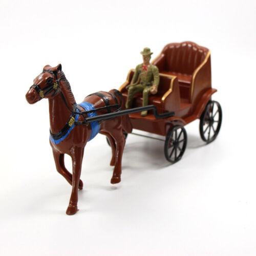 P2521 Modell Figuren Pferd und Wagen Stämme Die Best Western Region Cowboy
