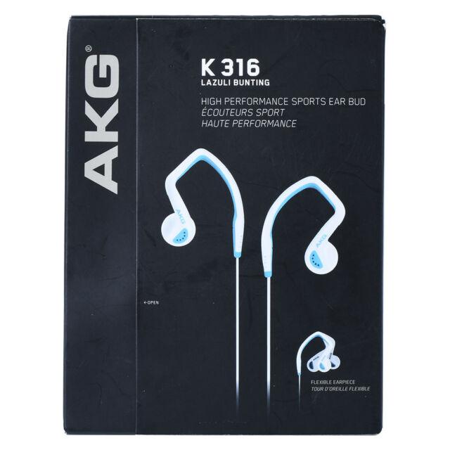 AKG K316 Blue In-Ear Headphones