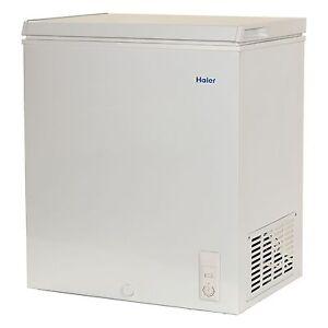 Haier Chest Deep Freezer 5.0 cu ft Small Size Compact Dorm ...