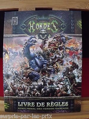 Hordes Livres De Regles Remix Primal Mkii Version Française Guide Neuf