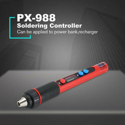 Welding Tools Mini Tip Electric Soldering Iron USB Adjustable Temperature  New