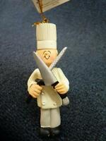 Ornament Central Chef Male Christmas Ornament With Tag (o2323)