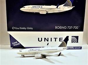 Gemini Jets United Airlines Boeing 737-700 GJUAL1601 1/400 REG#N12754
