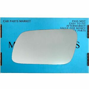 Left Passenger Side Convex Wing Mirror Glass for MERCEDES E-Class W210 95-99