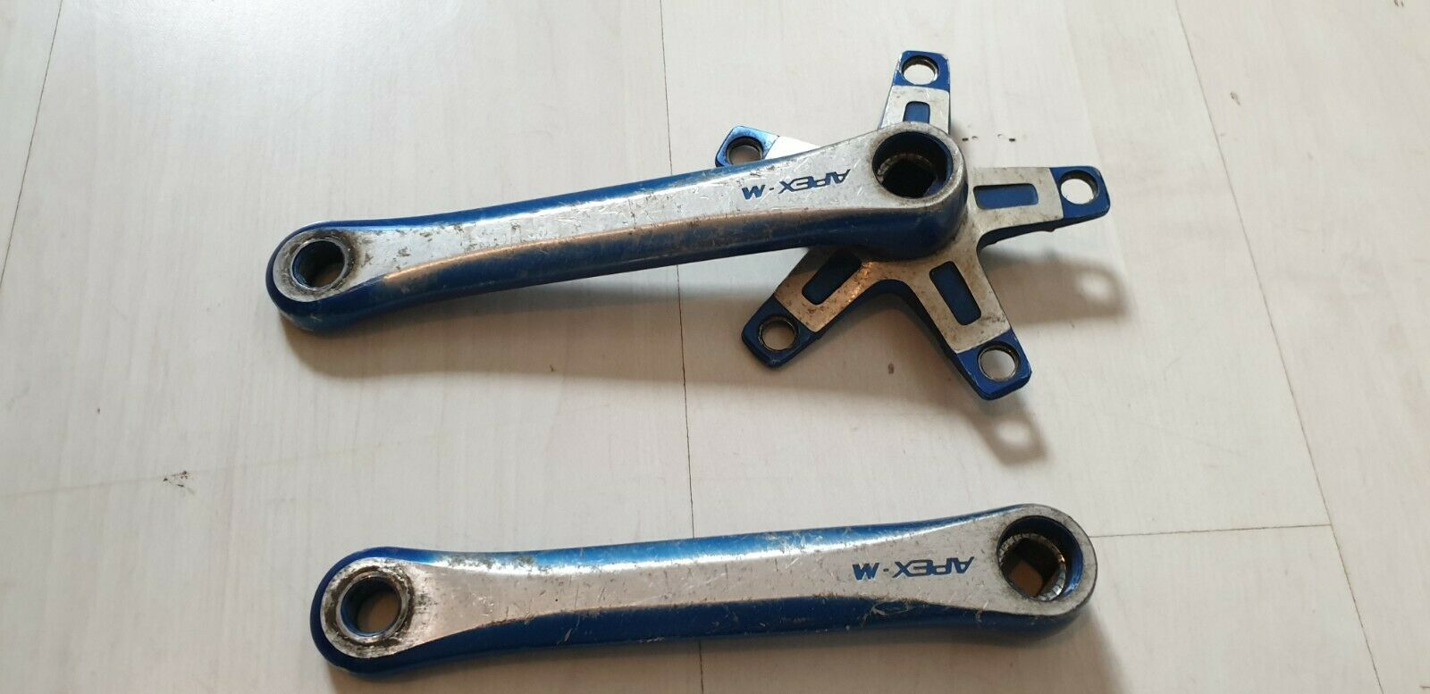 Vintage SR Apex M old School Bmx cranks