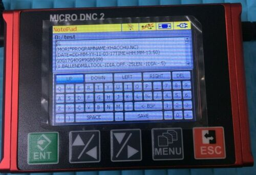 MICRO DNC2.USB Reader to RS232,DNC solution for all CNC machine,drip feed DNC