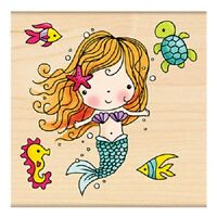 Penny Black Rubber Stamps Mimi The Mermaid Stamp