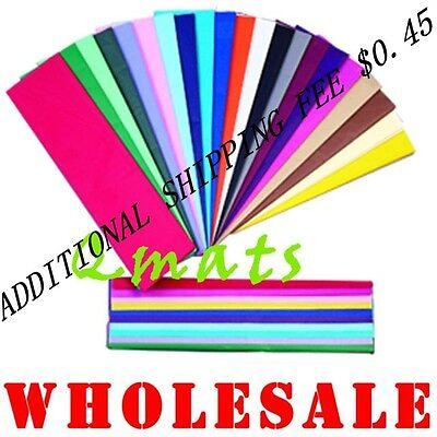 20 Tissue Paper Gift Wrap 20x26 U Pick Color Wholesale Ebay