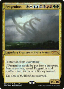 FOIL-Progenitus-Grand-Prix-PROMO-MTG-Magic-English-NM