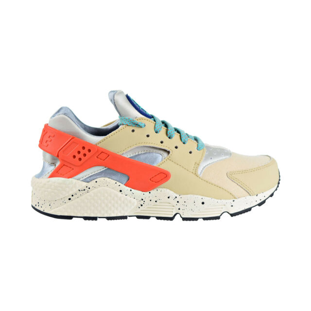 Nike Air Huarache Run Premium Men's Shoes Desert OreIndigo Force 704830 204