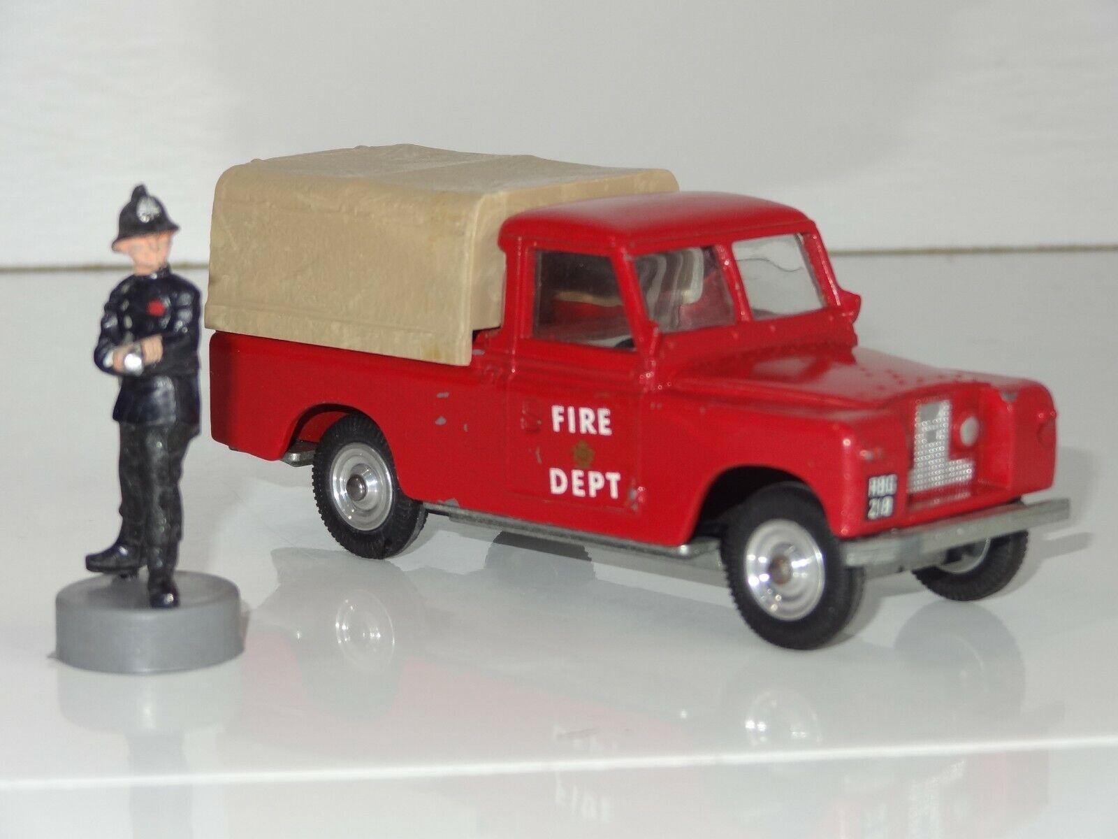 orden ahora con gran descuento y entrega gratuita Triang punto en en en Land Rover Fire Dept - 316 (209)  barato
