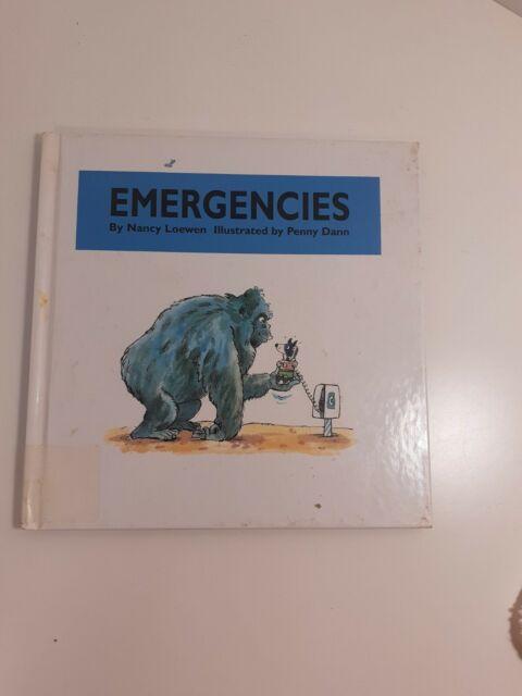 Emergencies by Nancy Loewen 1997 hardback ex-library