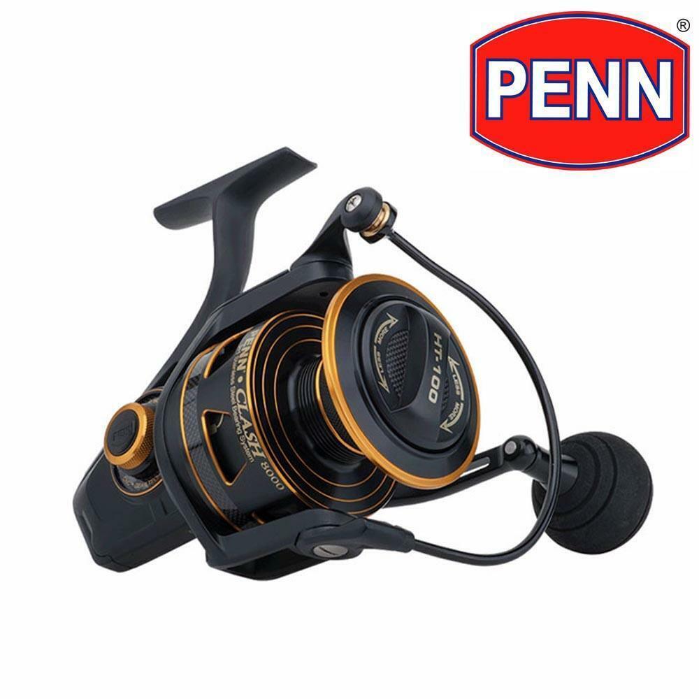 Penn choque 5000 Cocherete giratorio para Agua Salada-Pesca Marítima
