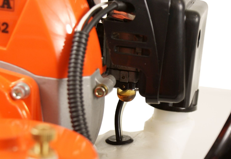 Benzin - Erdlochbohrer ATIKA ELB 52 52 52 mit 3-tlg Bohrersatz 100 150 und 200 mm Ø c14ace