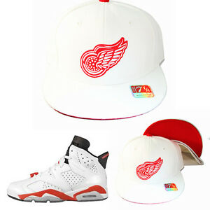 size 40 8171e 9f841 Image is loading Mitchell-amp-Ness-Detroit-Red-Wings-Fitted-Hat-