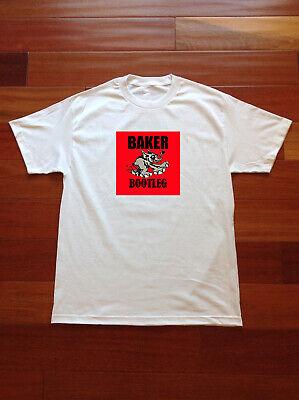 VTG~Baker Skateboards Baker Bootleg T Shirt 90s~REPRINT | eBay