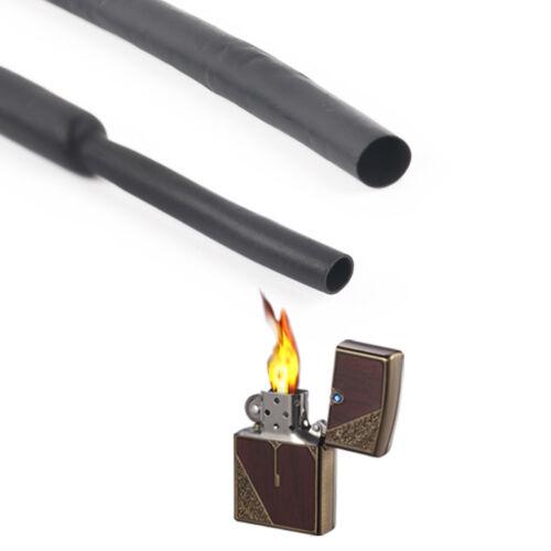 5Meters Φ2mm 2:1 Black Heatshrink Tube Sleeving Cable Heat Shrink Tubing Wrap