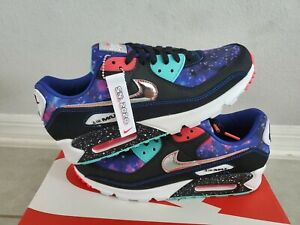 Nike Air Max 90 Galaxy Supernova 2020 8 14 Cw6018 001 Limited On Hand Us 11 Ebay