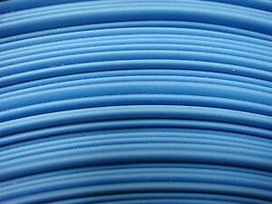 "1ft 2ft, etc 3/4"" BLUE 2:1 Ratio Flexible Polyolefin Heat Shrink Tubing USA MADE"