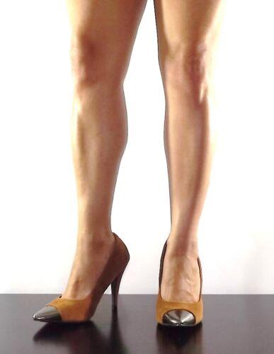 Womens Black  Pointy Cap Toe Stiletto Faux Suede Elisa-01 High Heel Pumps Size