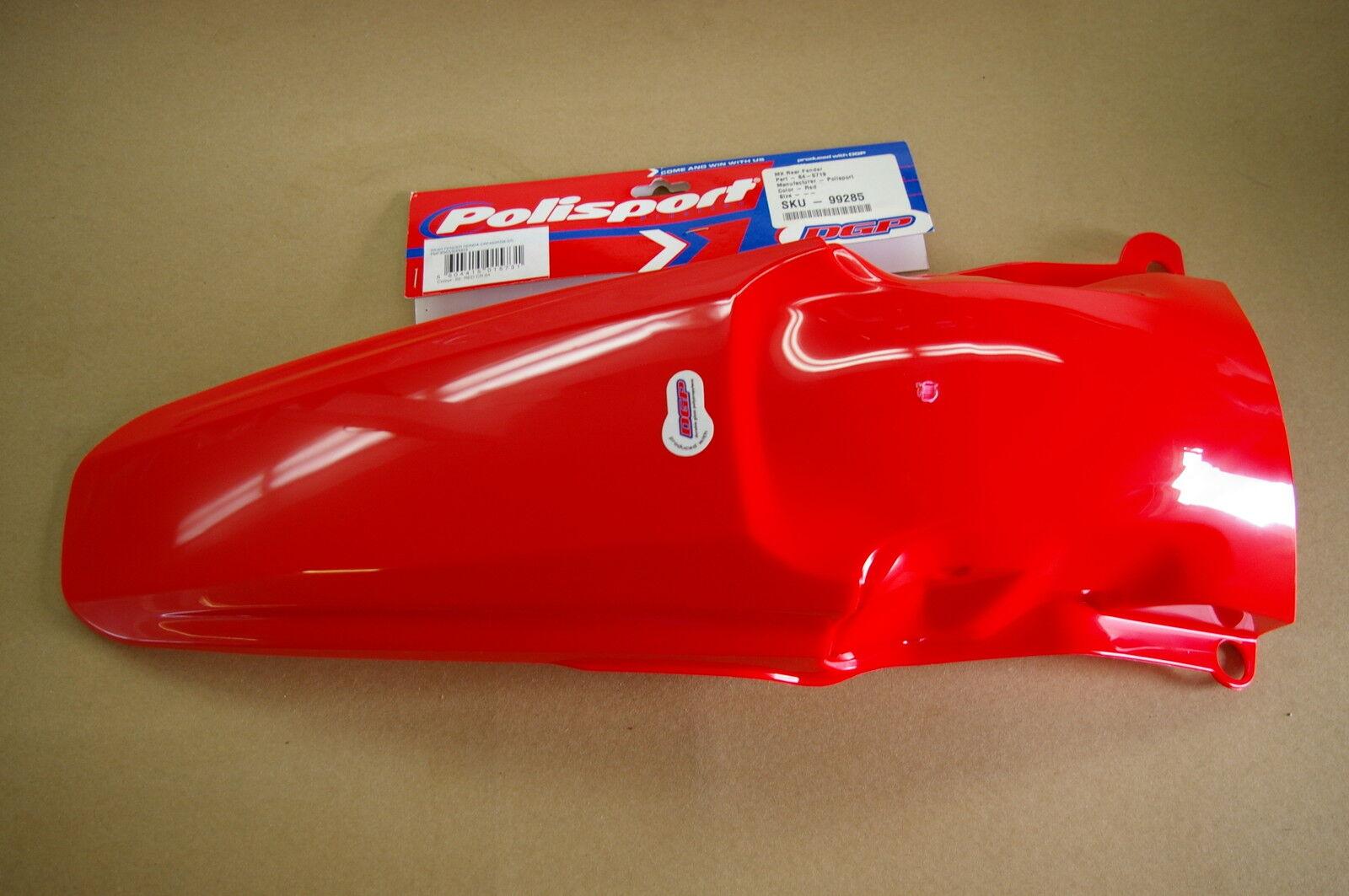 8565300003 Red CR 04 Rear Fender Polisport