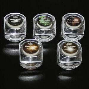 Puder Spiegel-Effekt Pigment Powder Pulver Glitzer Nail Art Design 3 g Champagne