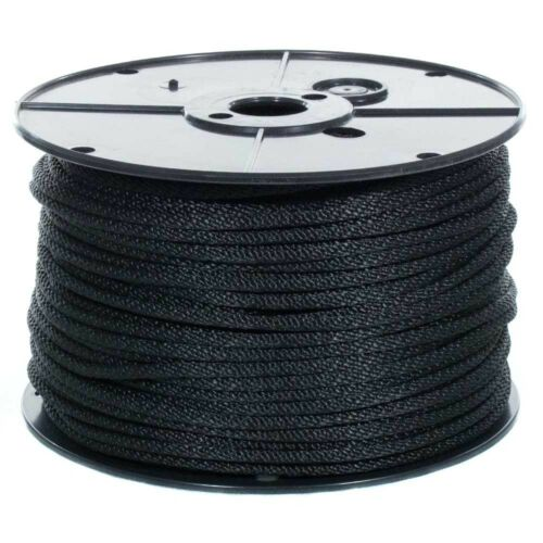 5//32 Solid Braid Nylon Rope in 1//8 3//16 and 1//2 Inch 5//16 Marine 3//8 1//4