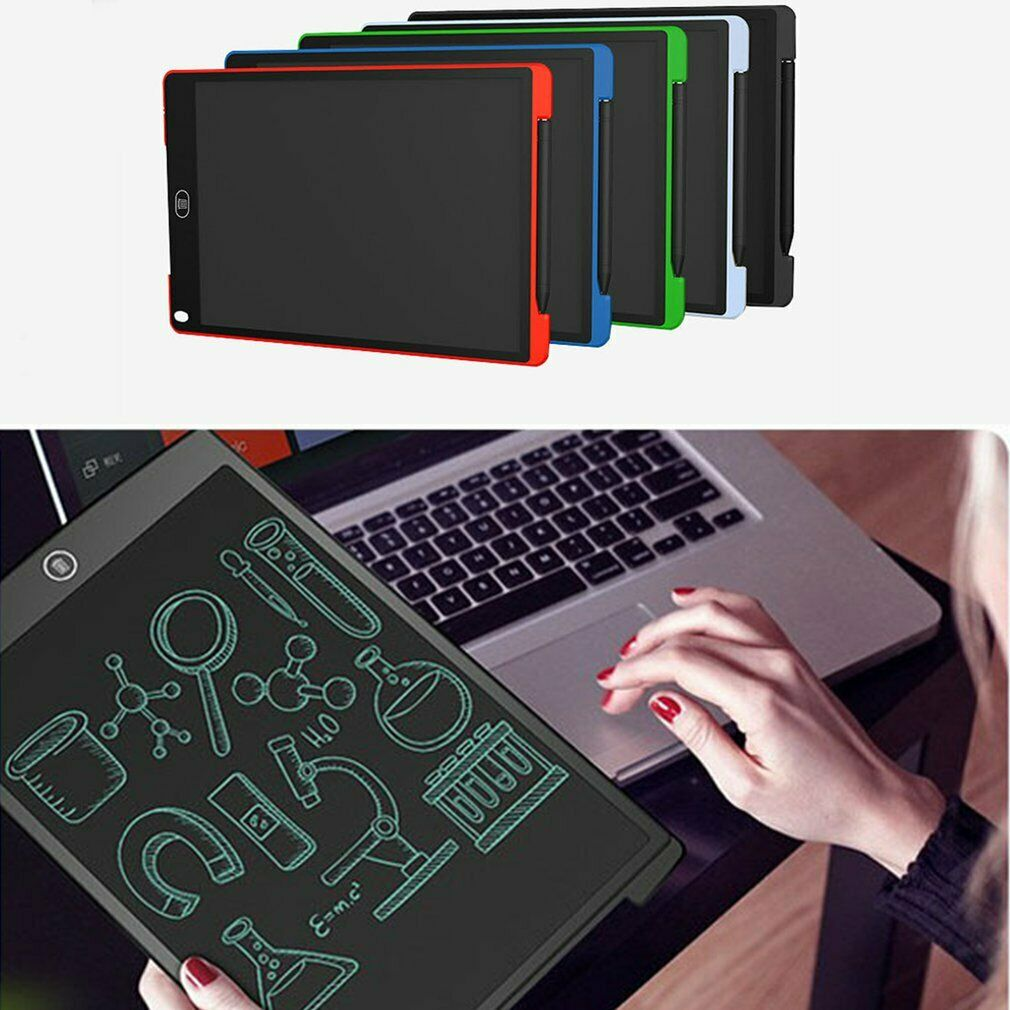 12/'/' LCD Writing Tablet Pad for Memo Board Style eWriter Boards Stylus Digital E