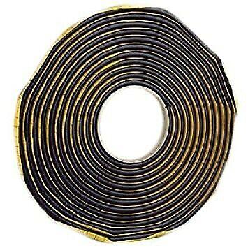 35m Protastic Industrial Fuerza Original Rollo Negro Tachuela