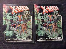 1982 X-MEN God Loves Man Kills Marvel Graphic Novel #5 FN/FN+ 2nd & 5th Edition