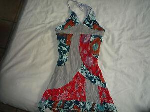 Robe-dos-nu-taille-XL-44-46-neuve-rouge-kaki-bleu-vert-marque-FRANSTYLE