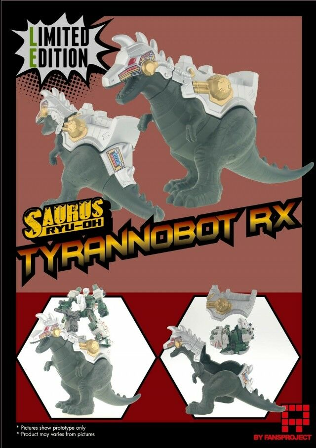 Fansproject - Ryu-Oh Tyrannobot RX Shell - Limited Edition